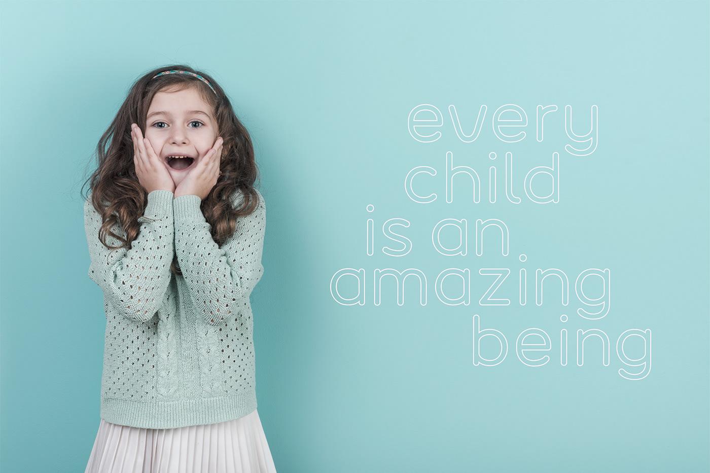 font Typeface kids Humanist