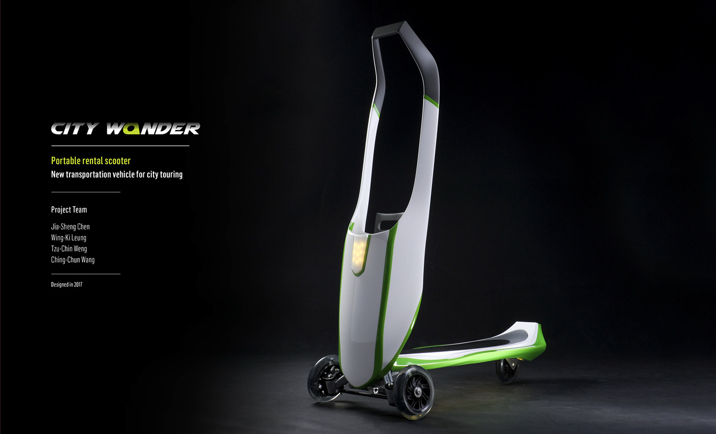 portable rental Scooter