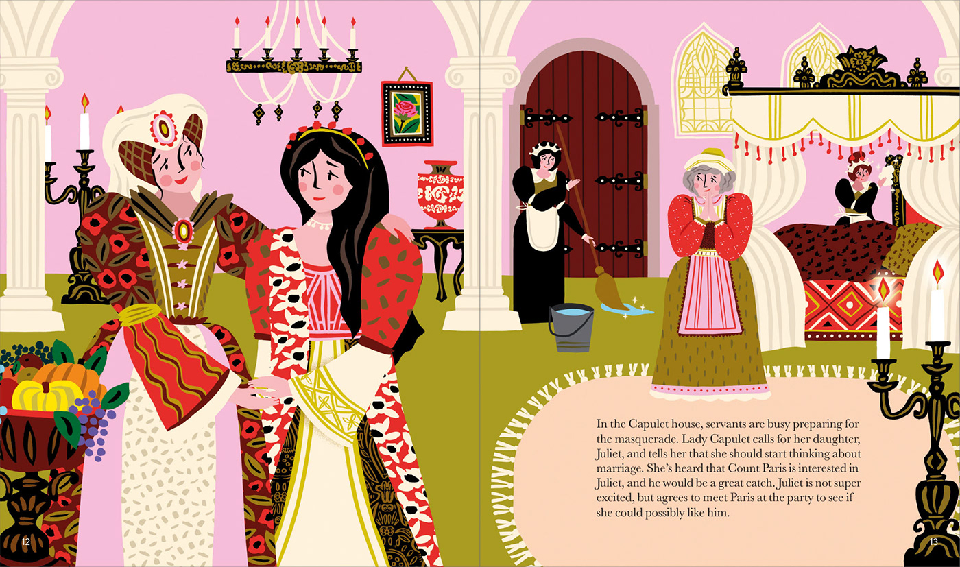 Romeo and Juliet // Picture Book