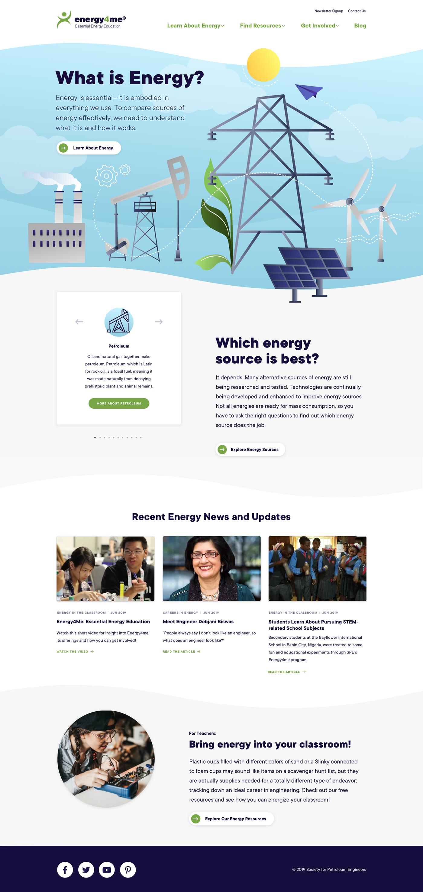 Website Web Design  Education