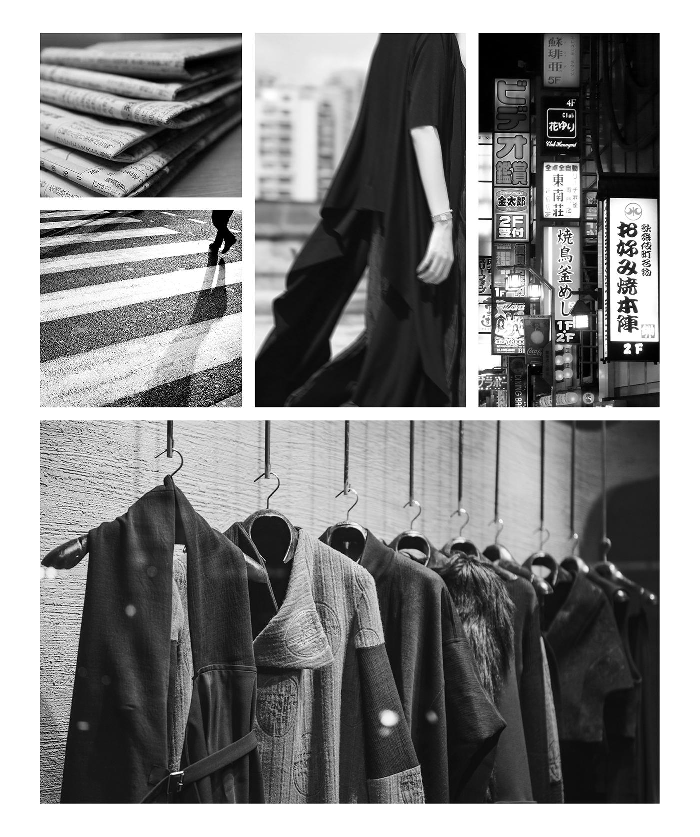 graphic design  Fashion  visual identity branding  Corporate Identity japan fashion brand Artwork Layout corporate documentation street style