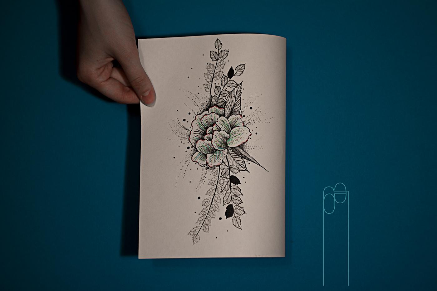 高質感的33款玫瑰花刺青欣賞