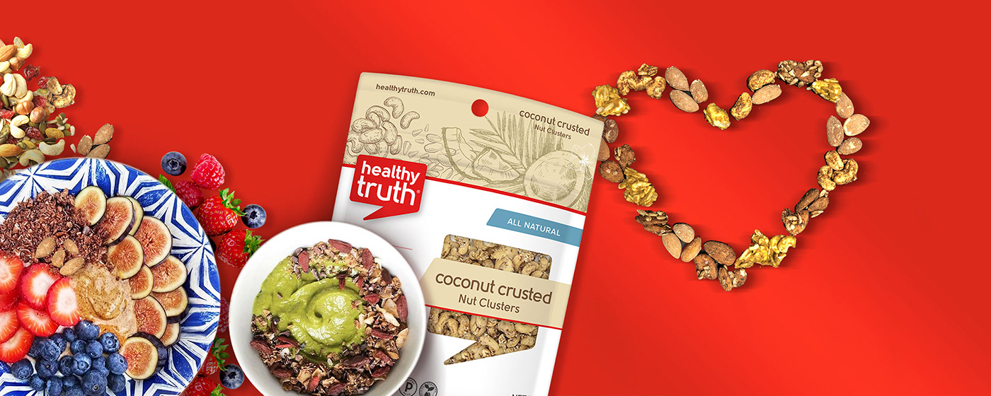 healthy healthy truth logo natural nuts organic Packaging Retail
