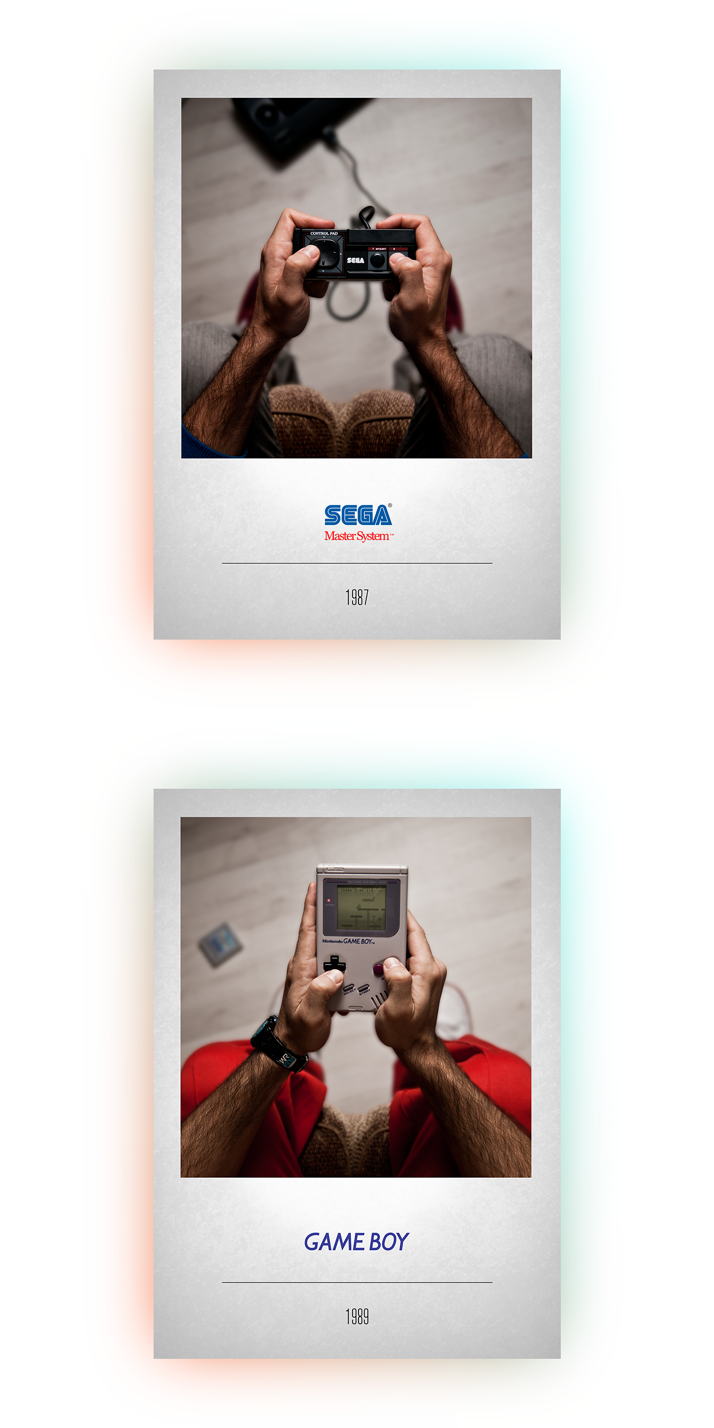 Videogames Games consoles controllers Nintendo atari SEGA xbox playstation poster gameboy gamegear Casio