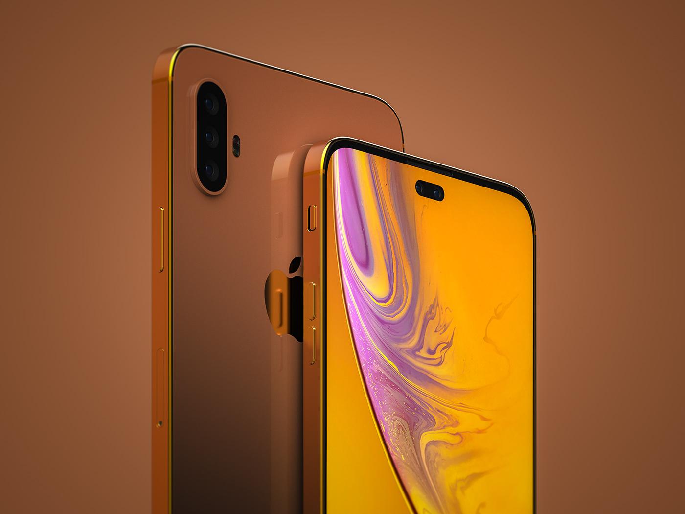 iphone iphonexi iphonexiplus iphonexs2 iphonexsmax concept Conceptdesign conceptphone samsungs10 rendering