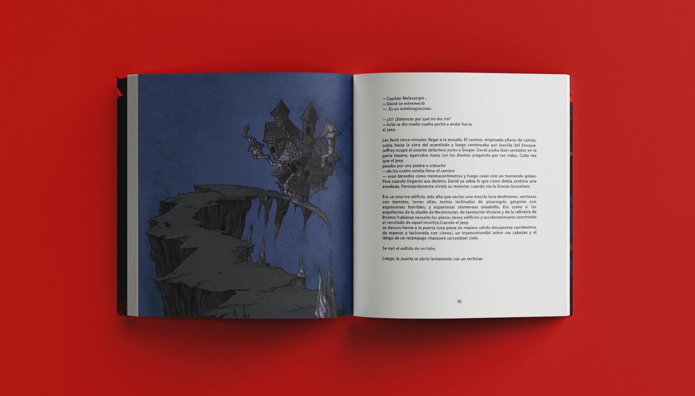 #bookcover #EditorialIllustration book characterdesing childbook fantasy grooshamgranje horror