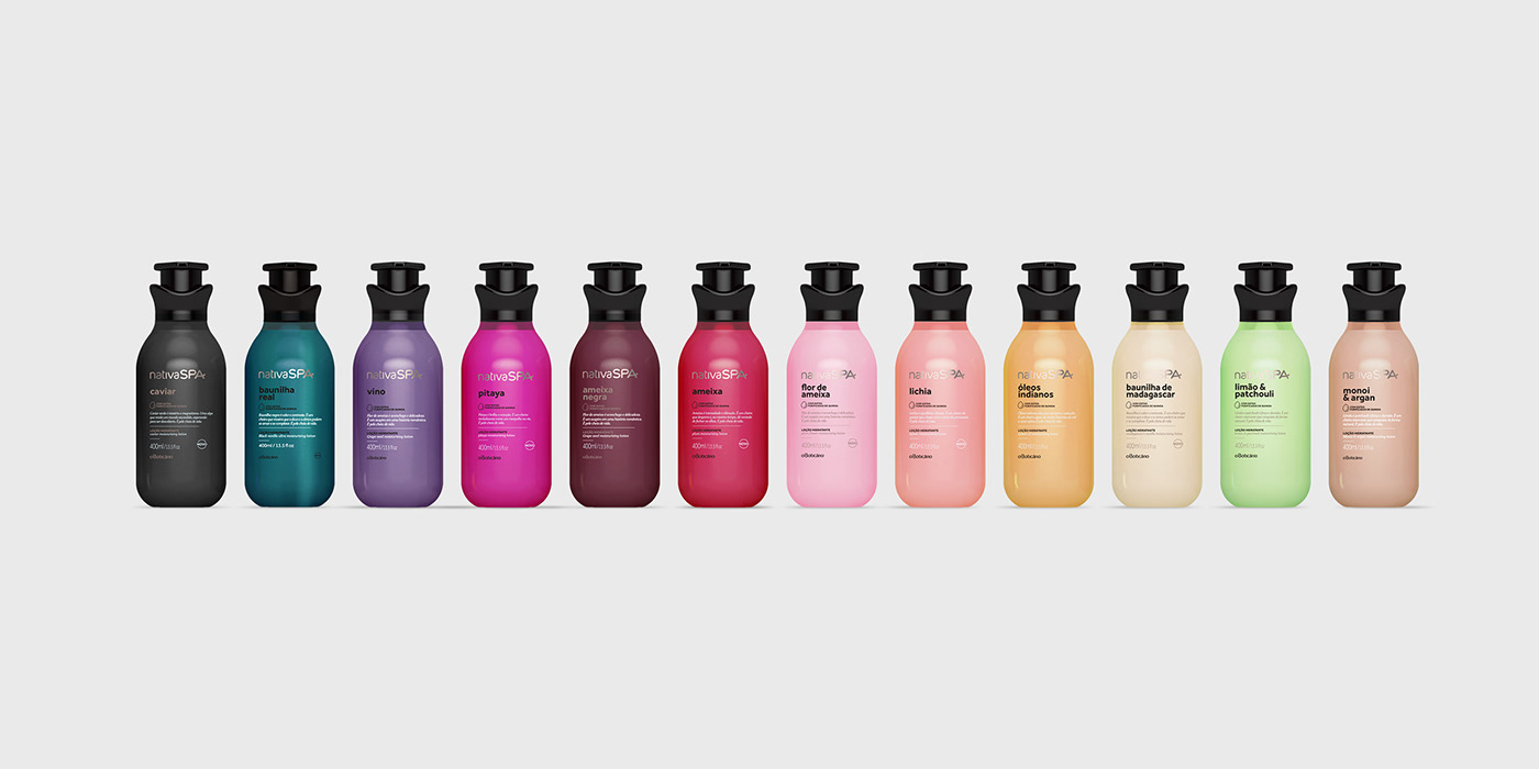 personal care brand Packaging cosmetics lotion organic Rainbow effect product design