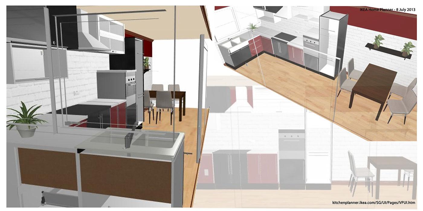 Ikea Kitchen Planner On Behance