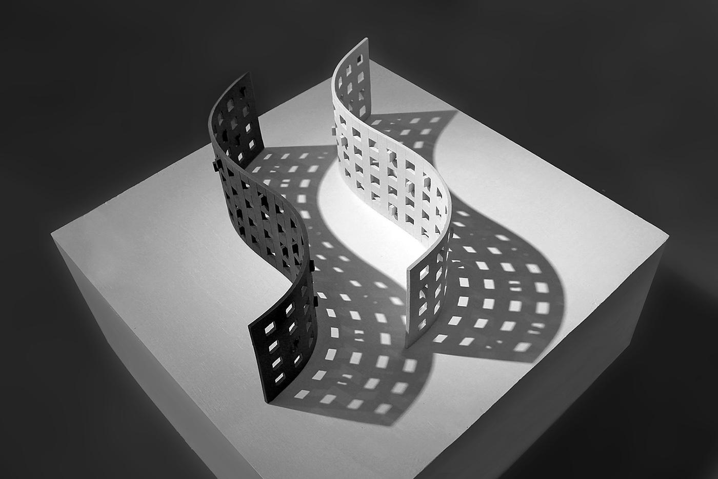 sculpture ceramic sculpture slab build abstract sculpture stoneware geometry Marek Jacisin OFA at Harvard Harvard Ceramics inspire