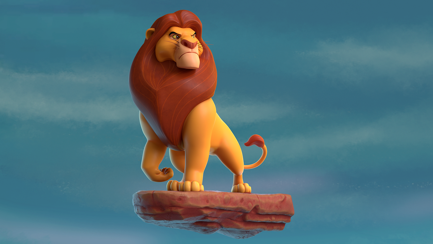 lion king mufasa 3D animation  movie cartoon disney