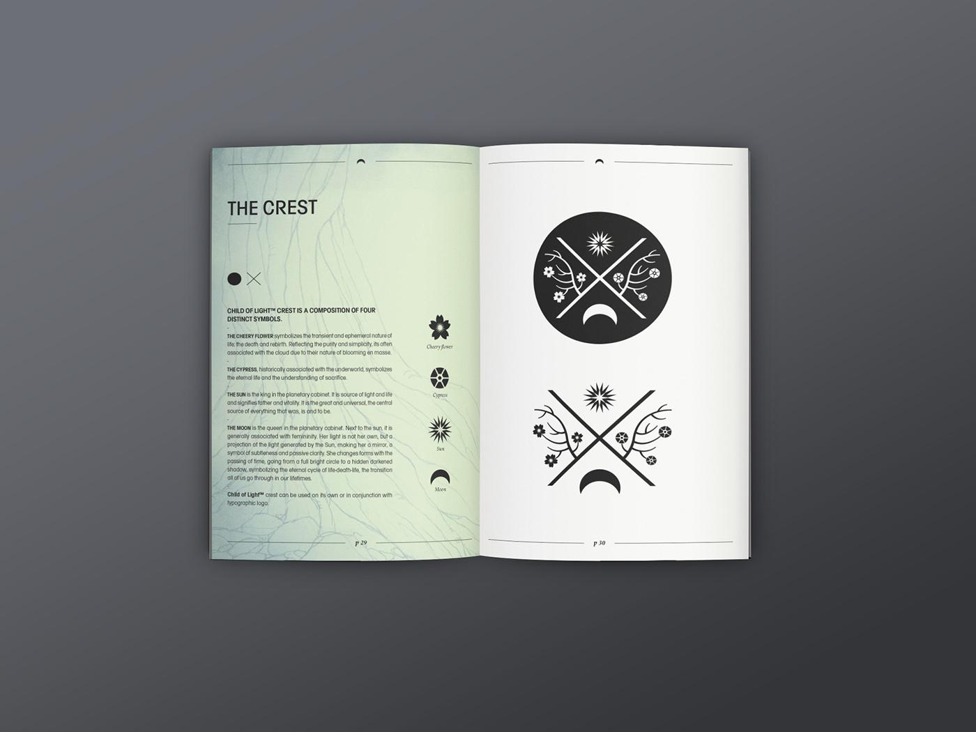 Child Of Light Logotype Guideline On Behance