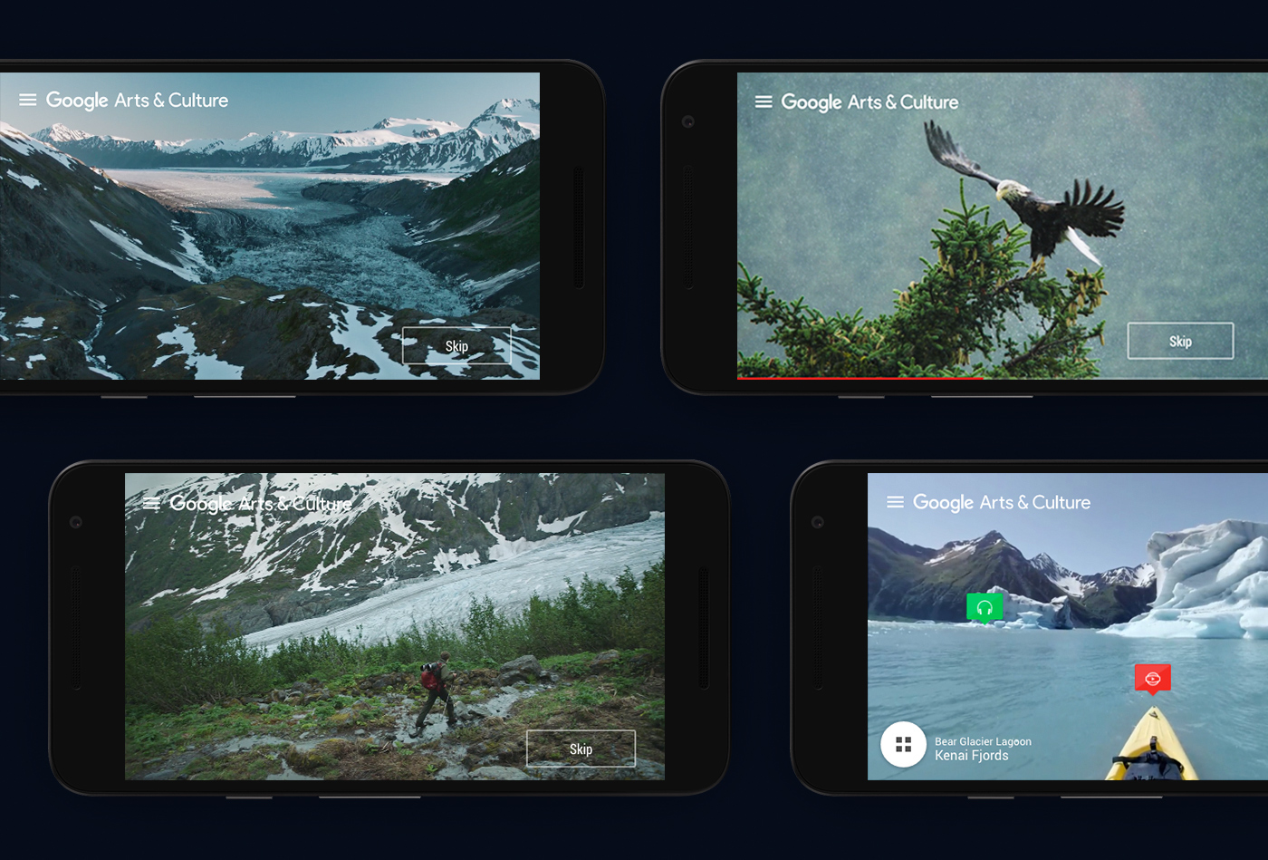 national parks NPS google Interactive Video 360 video Nature parks Documentary  Travel video