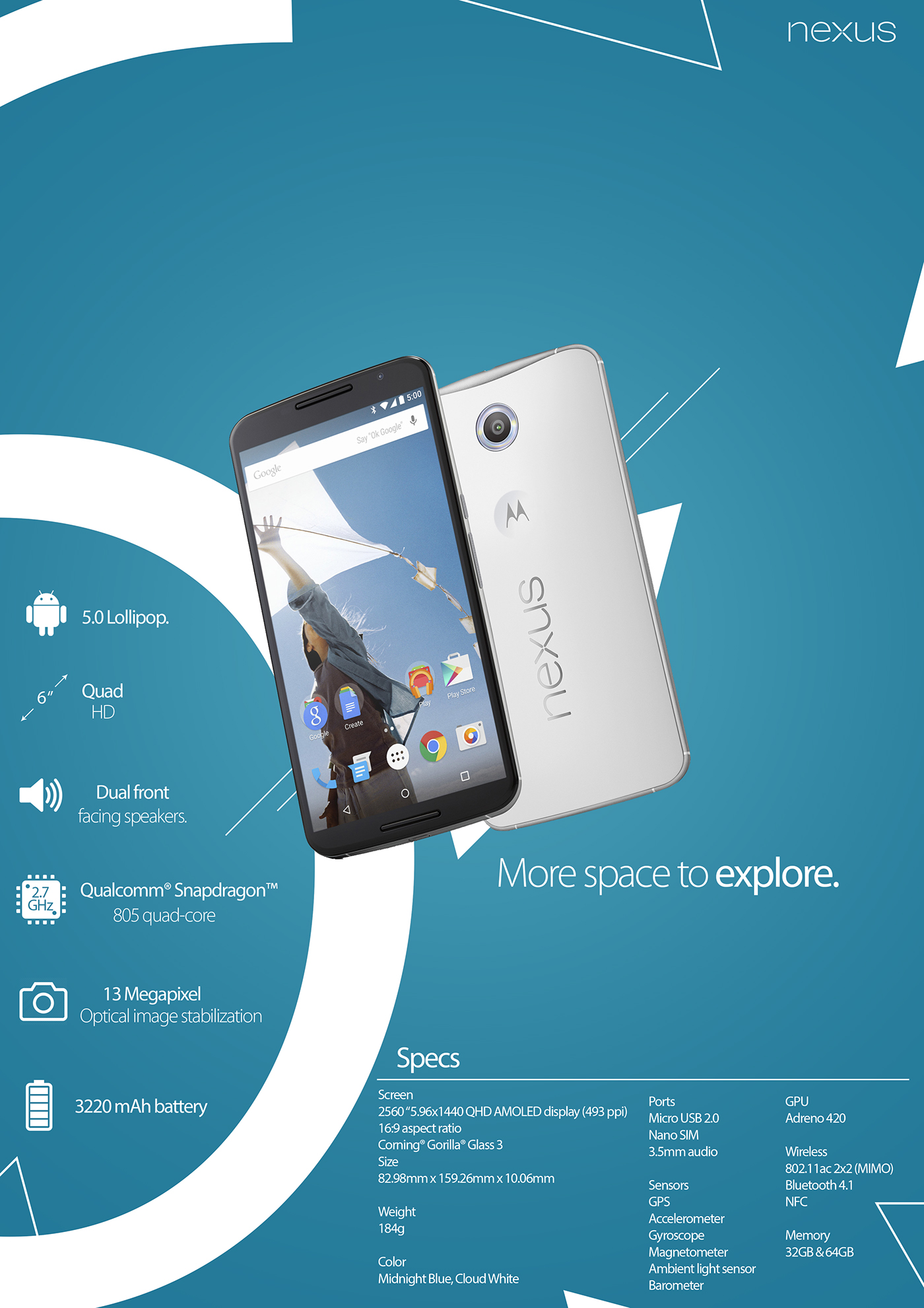 nexus 6 advertising concept