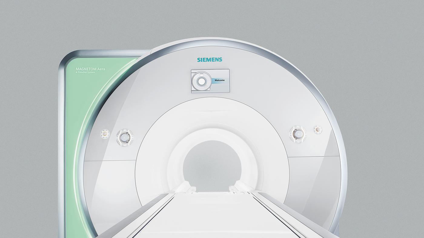 medical patient mri scanner magnet medical design care healthcare Siemens Magnetom tomography therapy