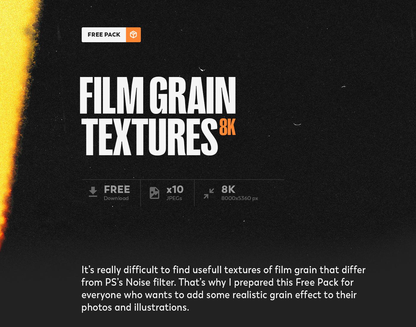Film   grain texture free CG lomo photo camera noise dust