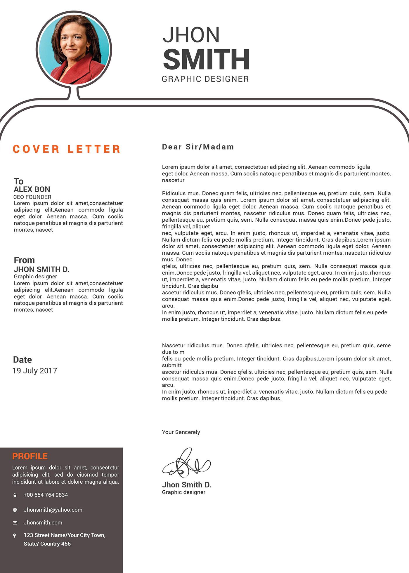 CV,a4,us letter,Resume,Creative Resume,Curriculum Vita,template,branding ,Advertising