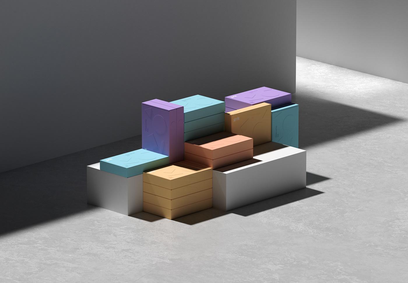 colorful corporate design grit identity marketing   mexico sabbath