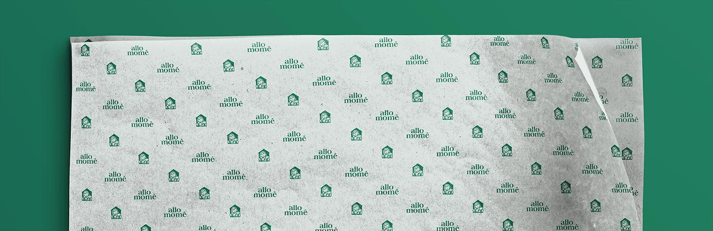 apparel disjointed studio family kids mother pregnancy branding  ILLUSTRATION  logo visual identity