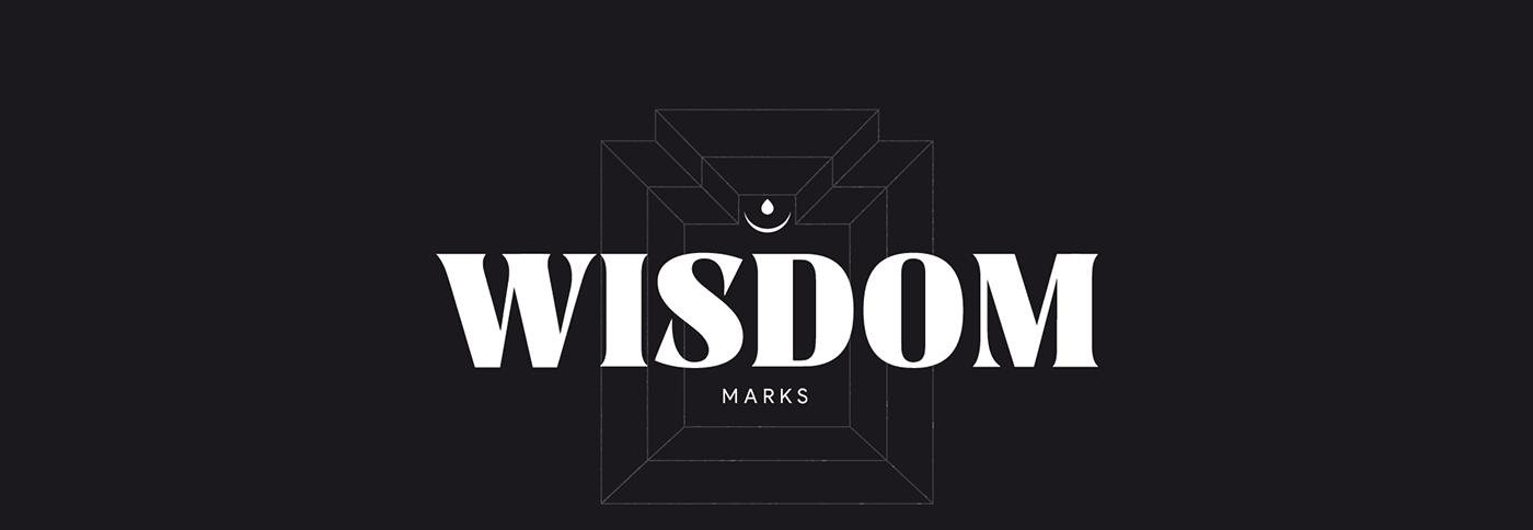 brand identity branding clever smart logo logotype design mark marks minimalist minimalistic wise wisdom religion god