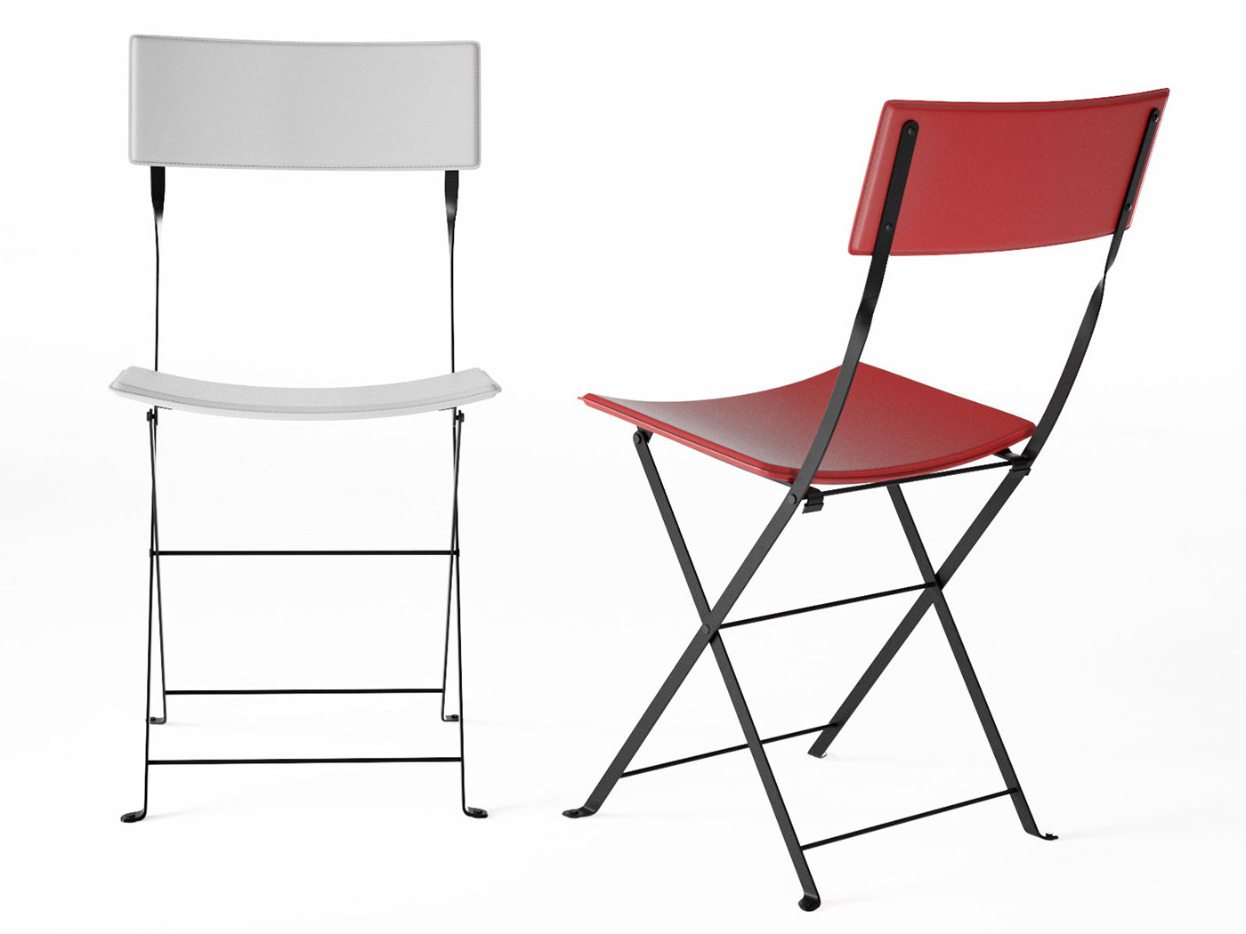 freebie Ligne Roset sellier chair dining chair FREE 3d model CG Content design connected