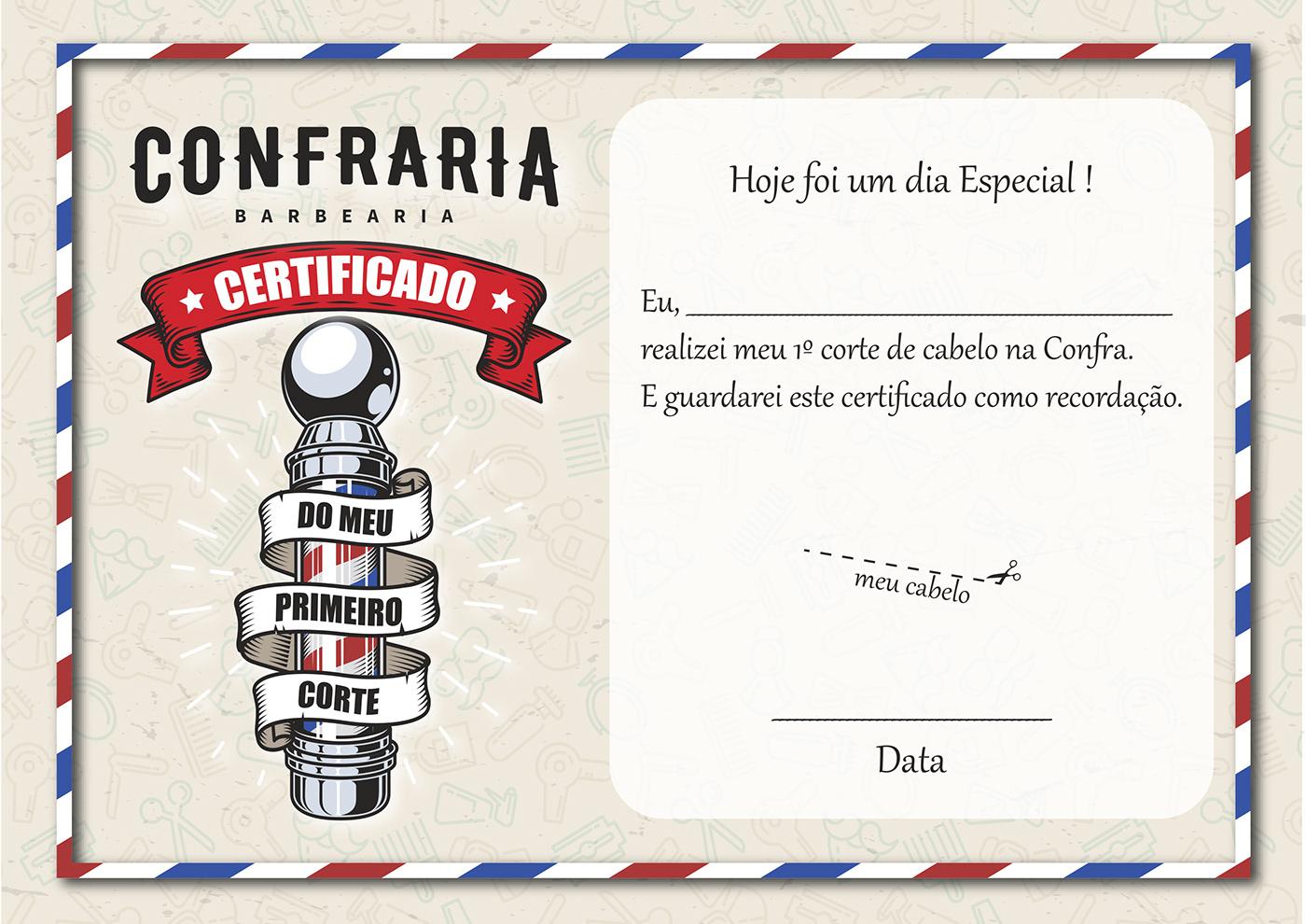 Certificado CONFRA primeirocorte