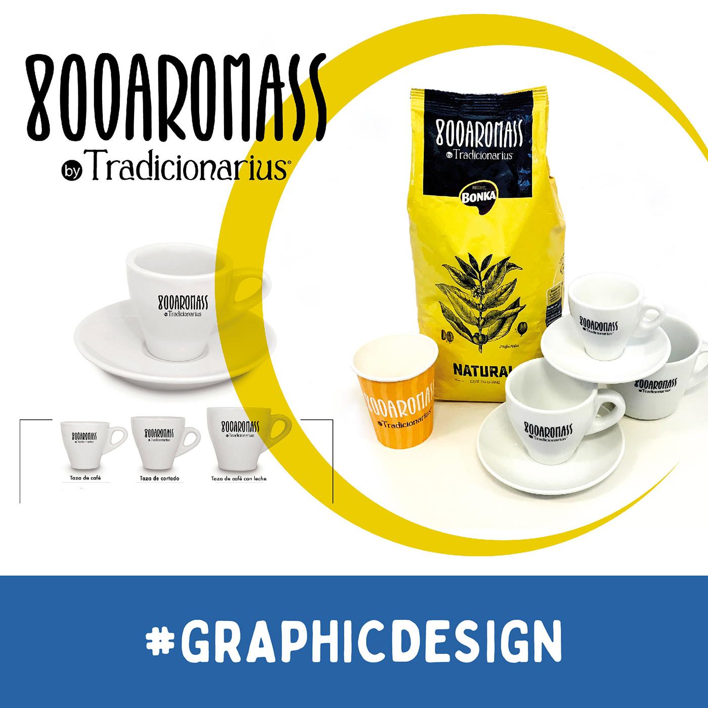 "Naming & Product ""800AROMASS"". Cobranding Bonka (Nestlé) / Tradicionarius"