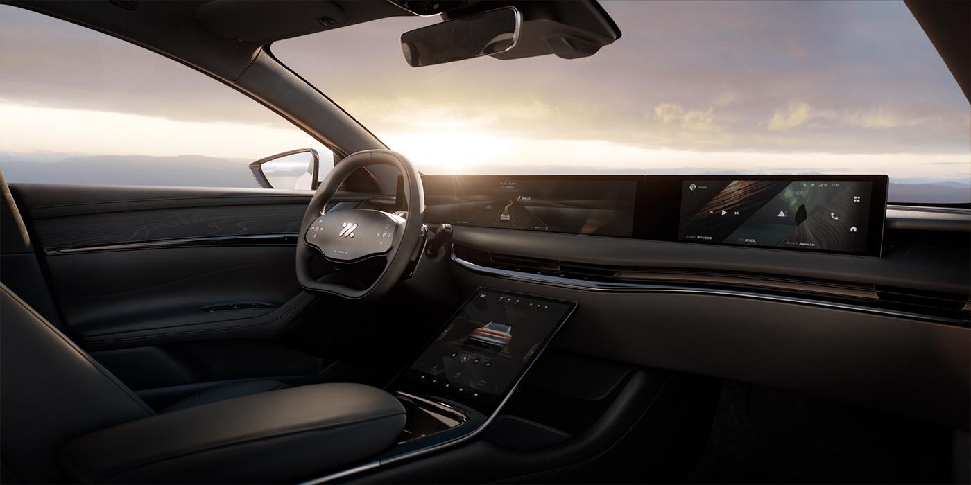 animation  automotive   car CGI Interior Landscape Photography  Render Sunrise sunset