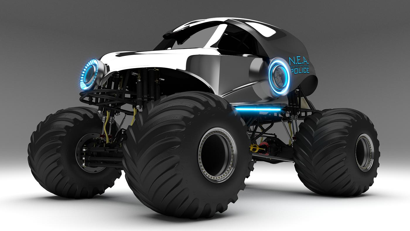 Monster Truck 3d