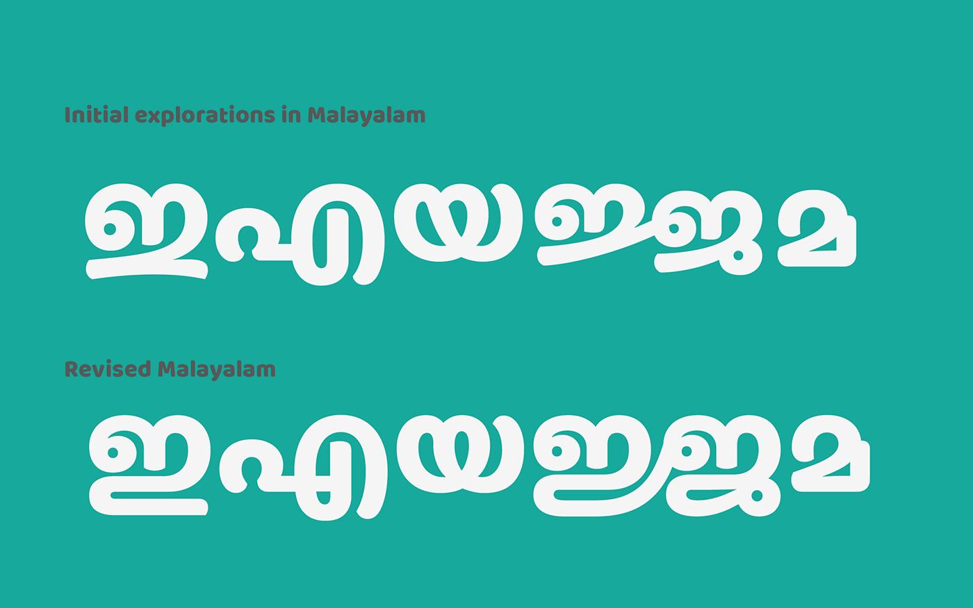indian font open source Ek Type multiscript matching fonts typefaces display font Free font bilingual webfont