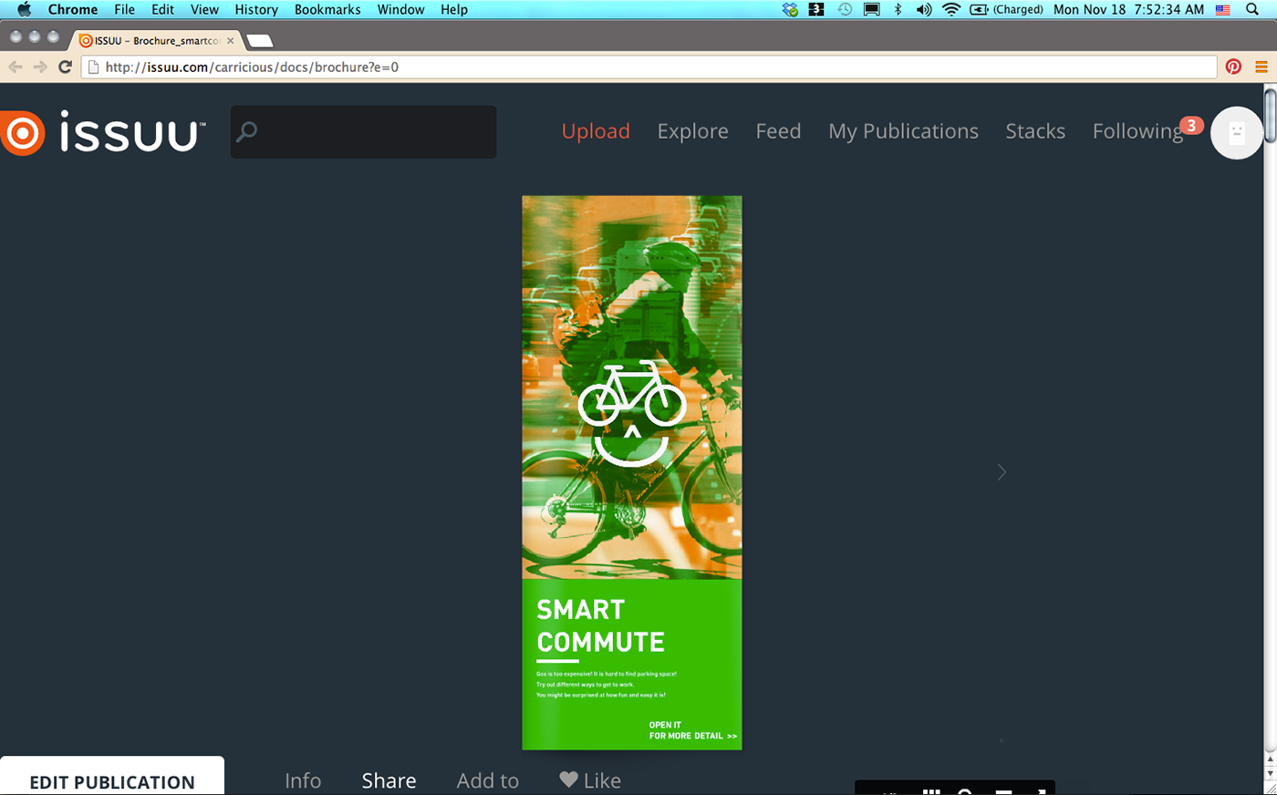 How to embed issuu in my behance? on Behance