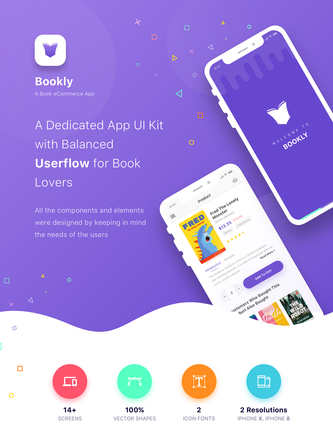 Bookly - A Book eCommerce App on Behance