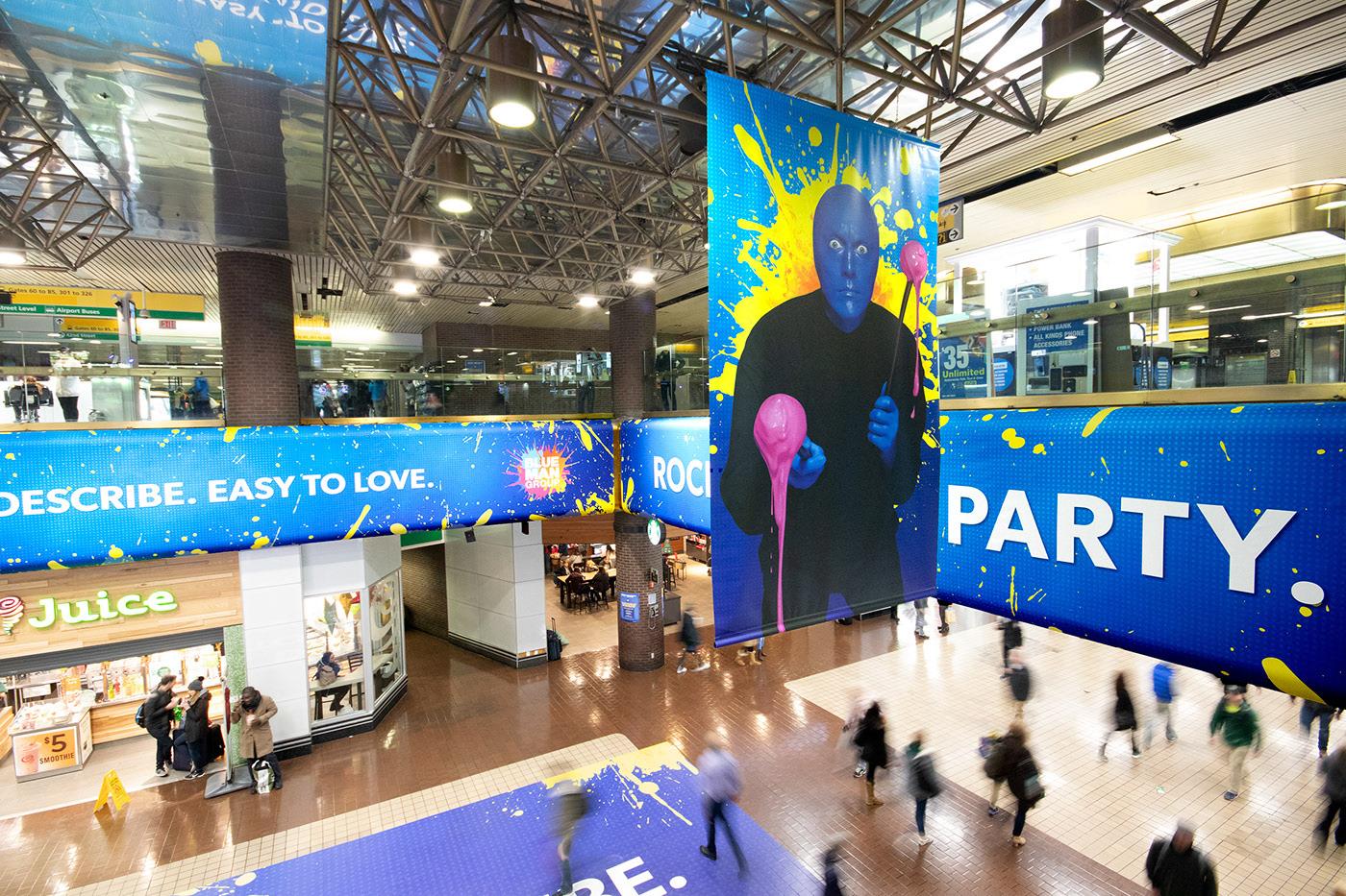 andre Andre Luis Santos blue man group design environmental graphics Las Vegas production work santos