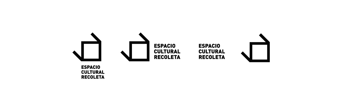 identidad marca sistema espacio cultural recoleta Gabriele identity diseño branding