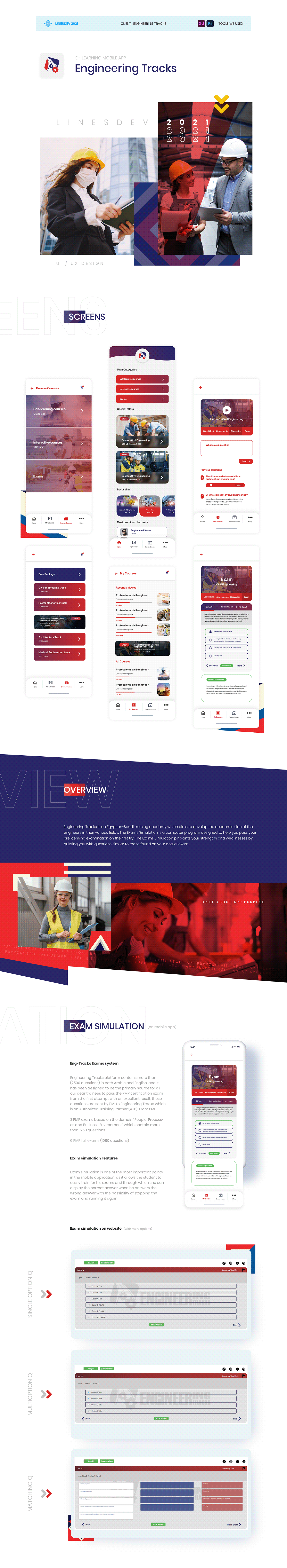 app application design Engineering  mobile UI ux