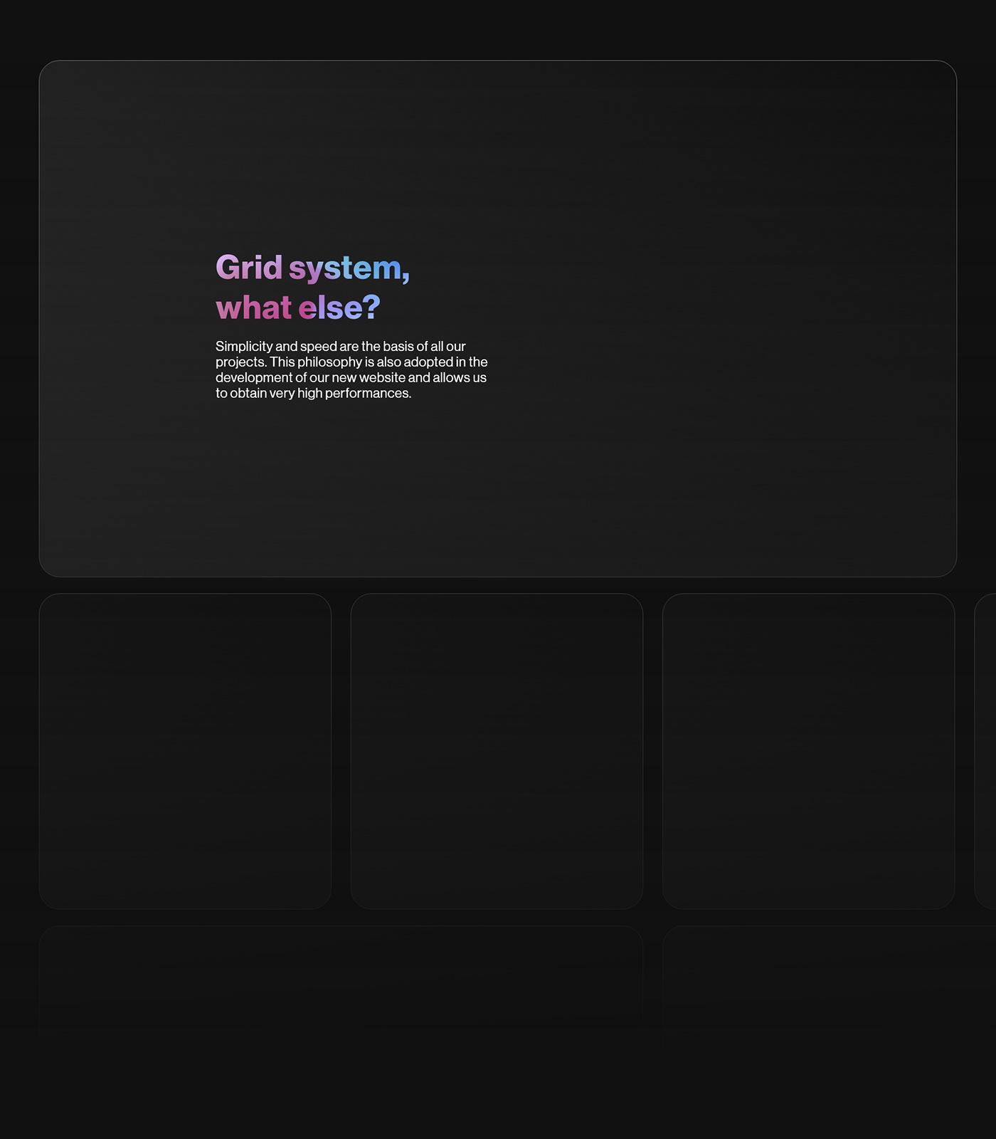 company website gradients modern website Webdesign Website website inspiration UI ux