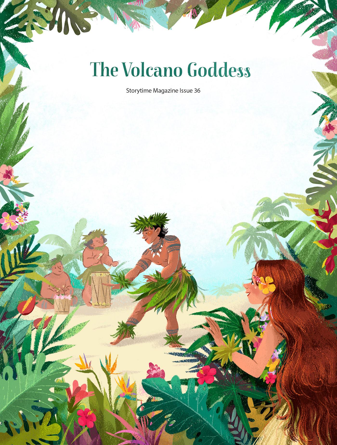 The Volcano Goddess-Storytime Magazine Issue 36