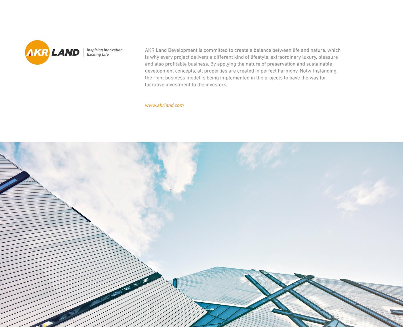 Akr land rebranding project on behance thank you malvernweather Choice Image