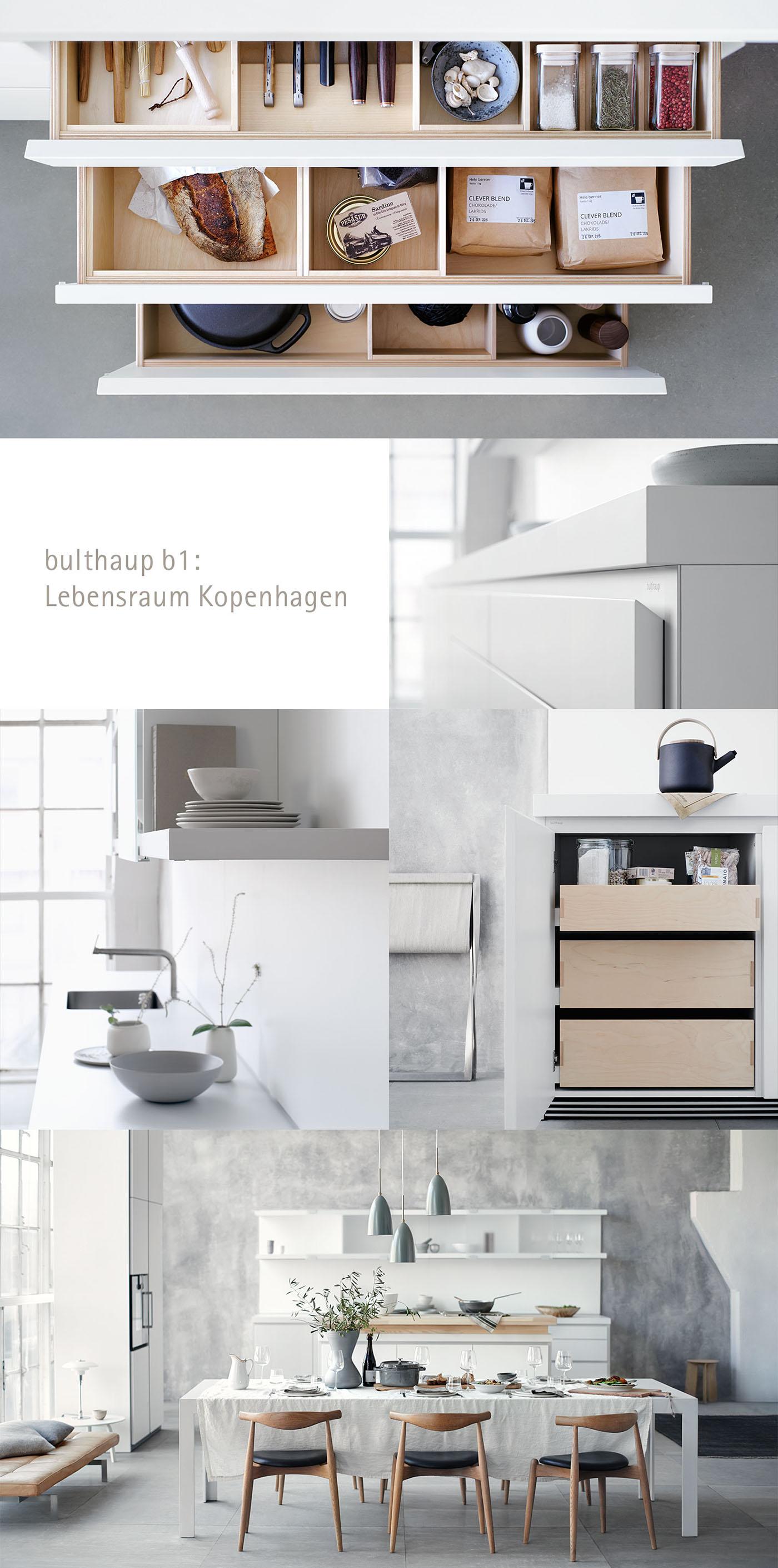 bulthaup b1 Lebensraum Kopenhagen on Behance