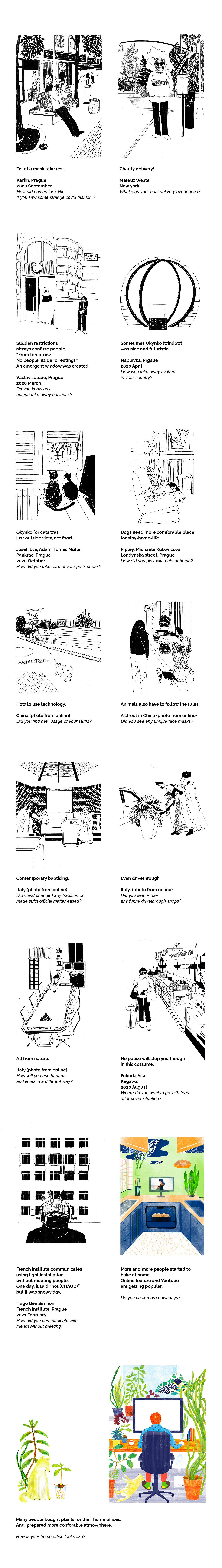 adovecreativeresidency Collection COVid diaryillustration ILLUSTRATION  reportage