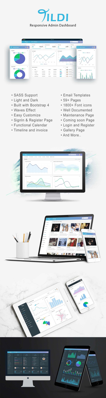 Tildi - Responsive Admin Dashboard Template - 1