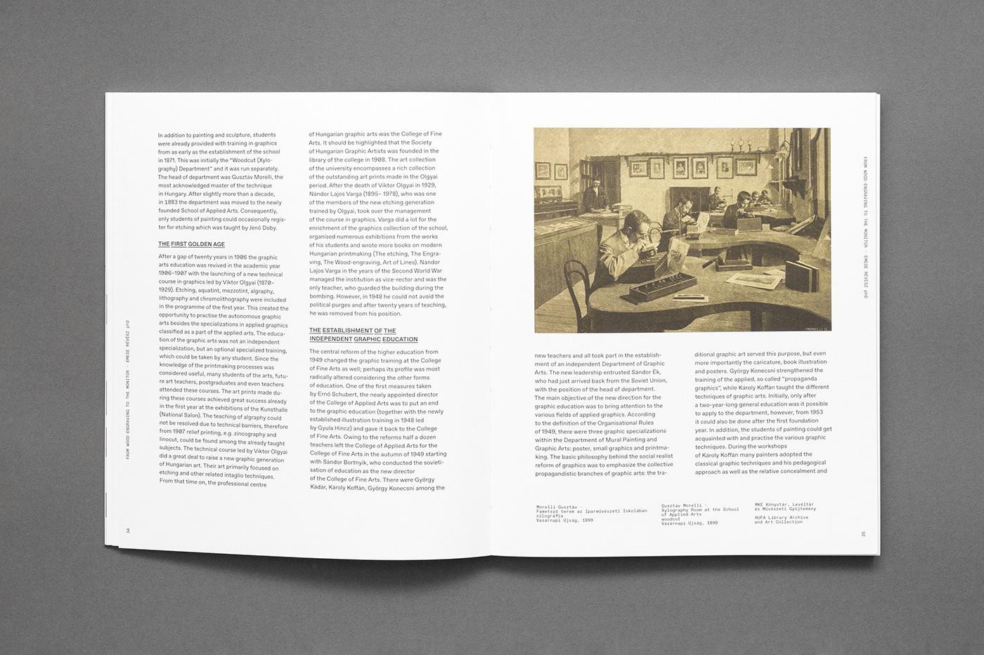 editorial book Layout gray type minimal art