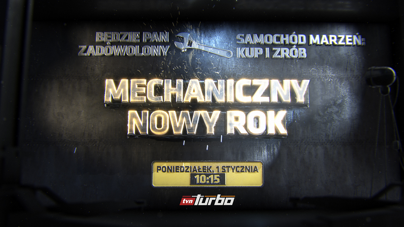 Title plate intro
