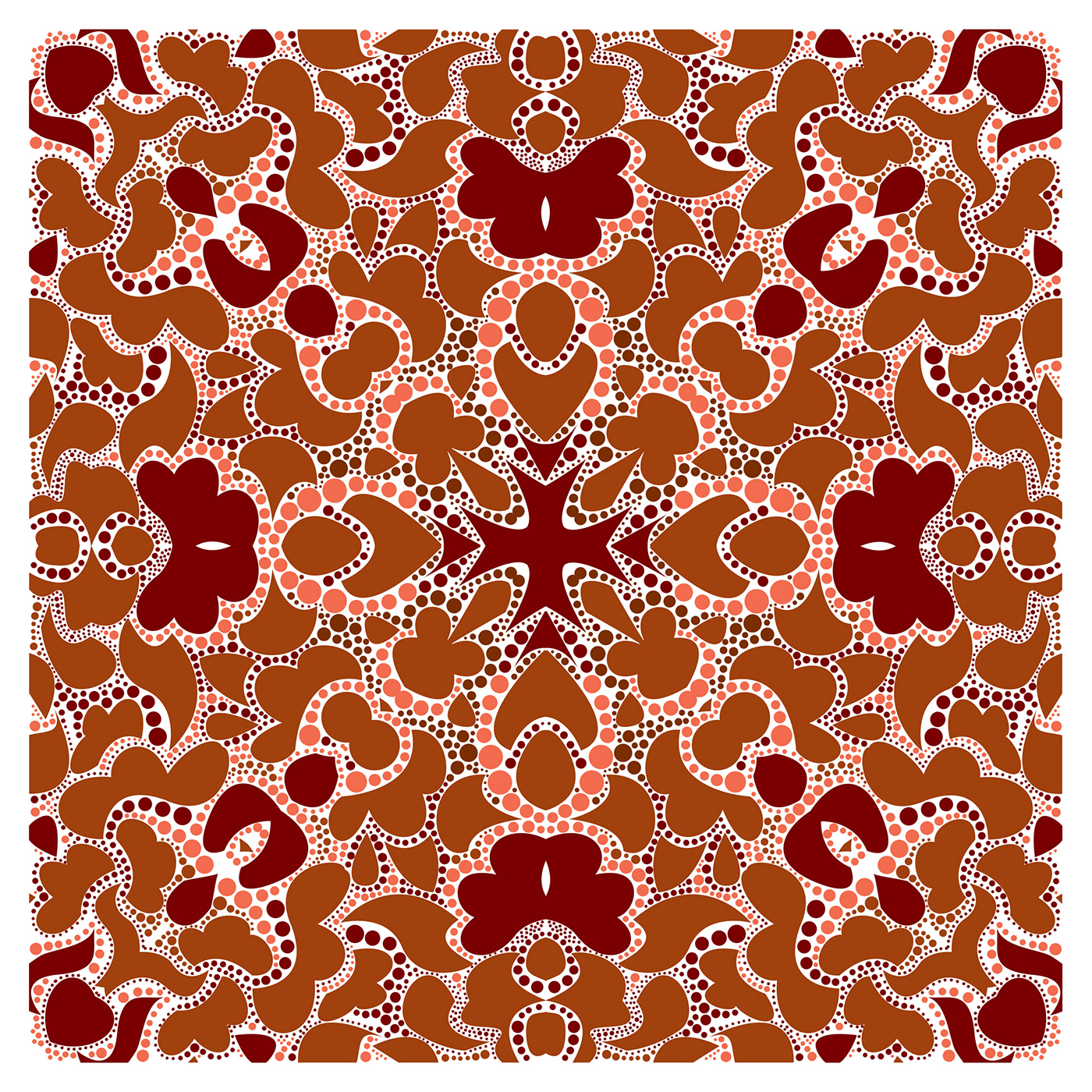 surface design textile fashion prints sparklina textile pattern design scarf design Dotted Art