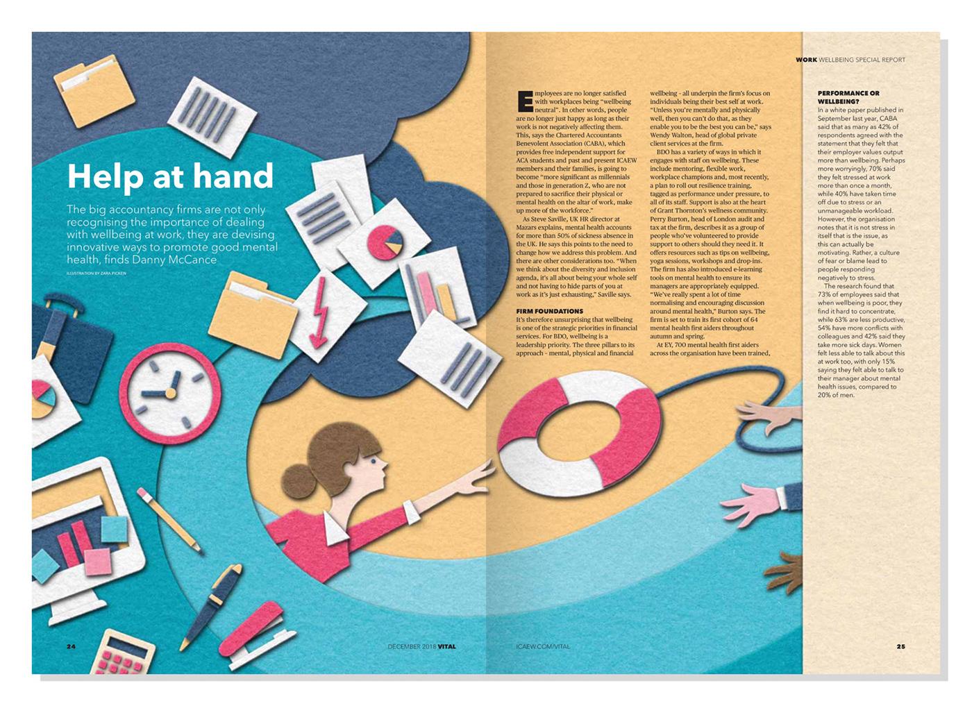 Vital Magazine - Help at Hand on Behance