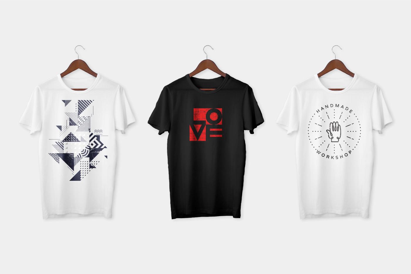 free t-shirt tshirt shirt White photoshop psd Mockup mockups black