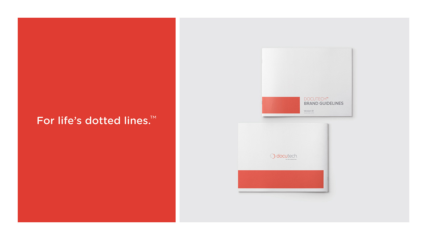 branding  docutech security esign online tool art direction  brand identity