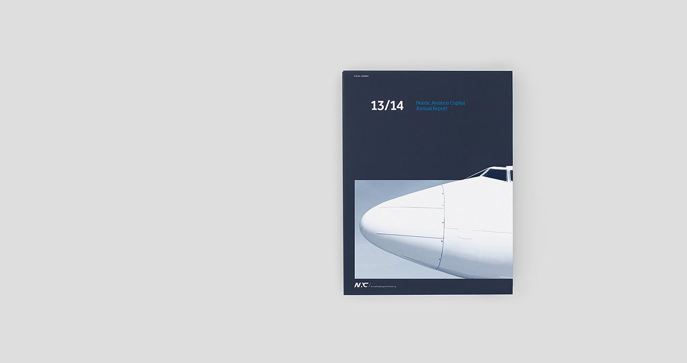 ineo aarhus denmark Scandinavian ANNUAL report NAC nordic aviation capital Designlab