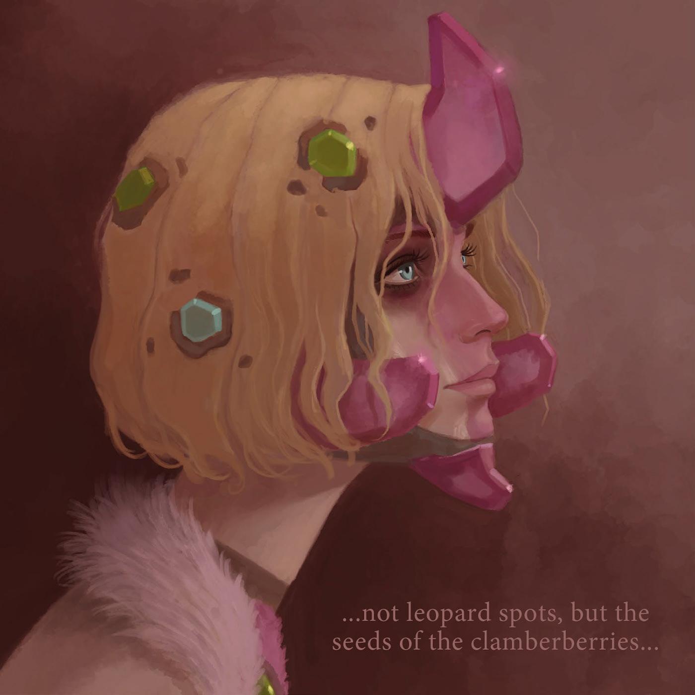 cavegirl cavewoman Character crystal fantasy pink