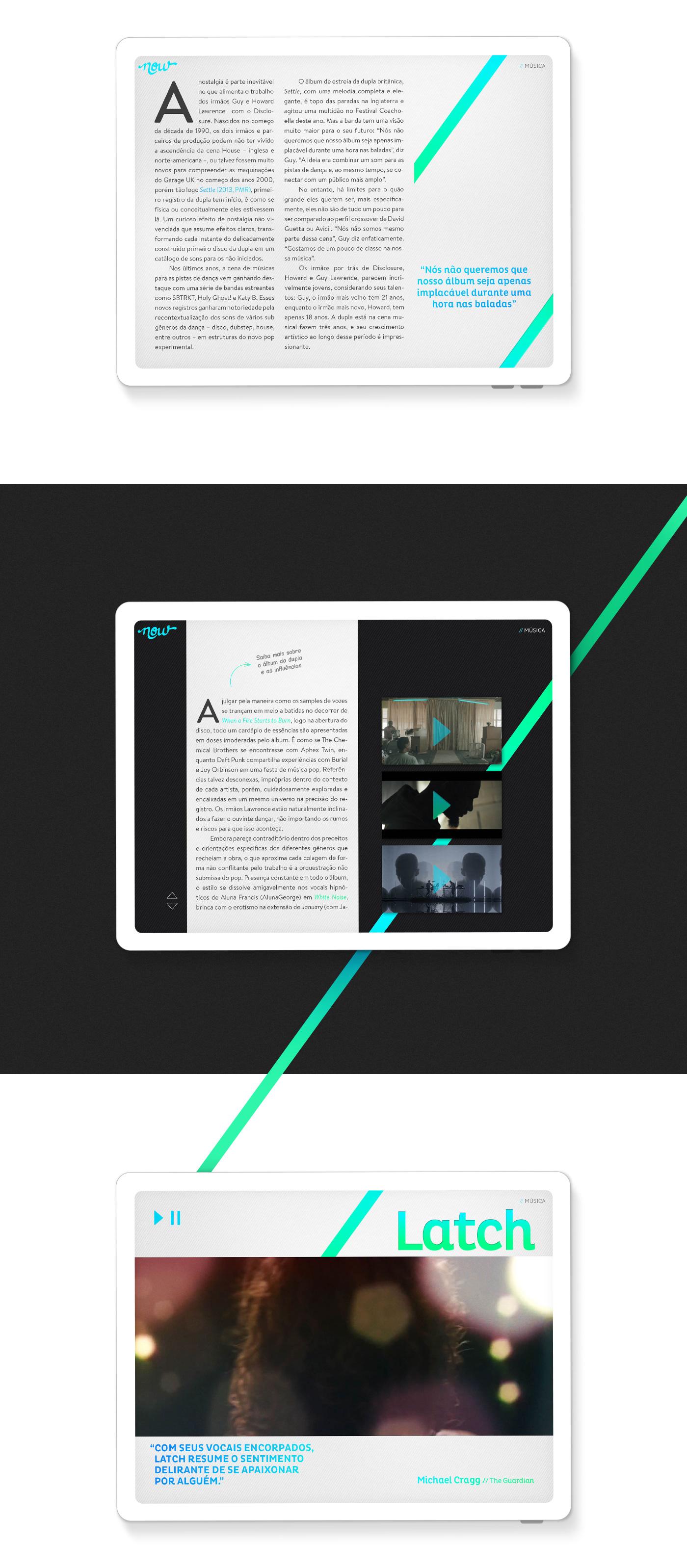 magazine Movies disclosure Frances Ha news now iPad digital interact ebook