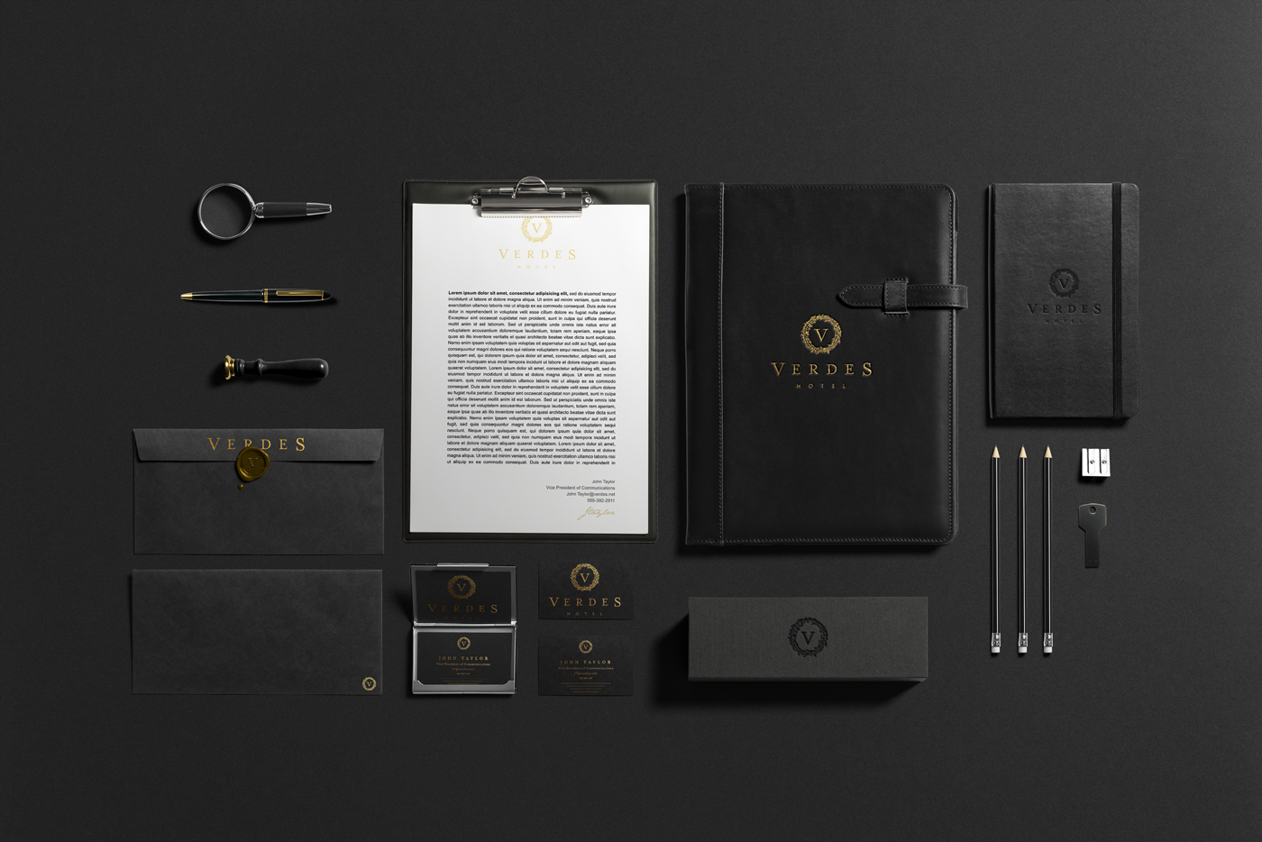 Verdes hotel identity on behance for Hotel design ce